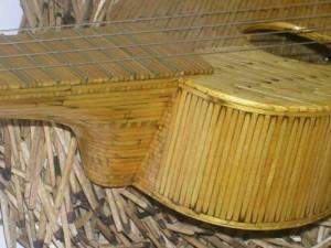 гитара из спичек