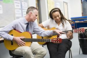 Преподаватель по гитаре