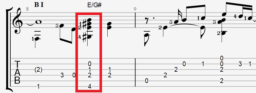 Табы и ноты для гитары к песне Глызина – Зимний сад