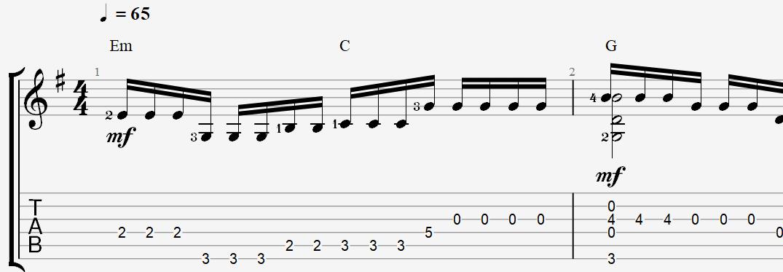 табы и ноты для гитары песни альянс – на заре