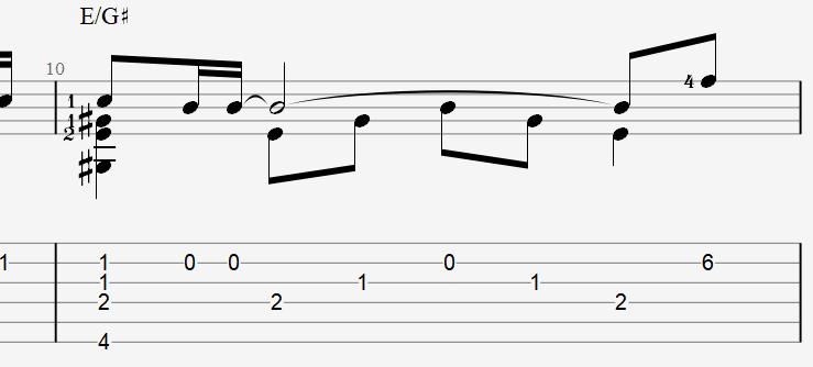табы и ноты для гитары к песне Талькова – Чистые пруды