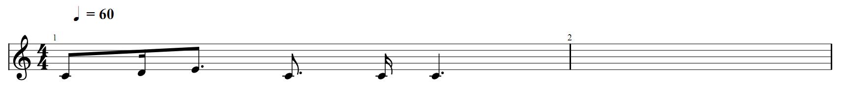 Запись нот для гитары2