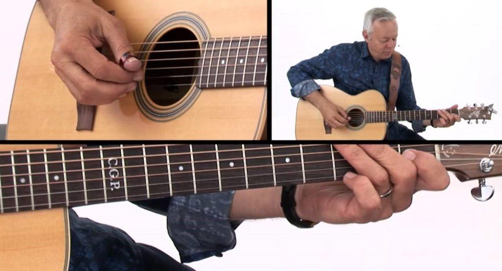 Модель гитары Томми Эммануэля Maton EBG808TE