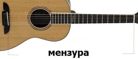мензура гитары